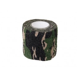 Камуфлажна полиестерна лента 2м - Woodland